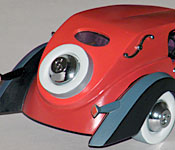 Walt Disney Classics Collection Cruella's Car rear