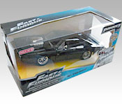 Jada Toys Furious 7 1970 Dodge Charger R/T packaging