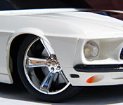 NKOK Furious 6 '69 Ford Mustang front detail