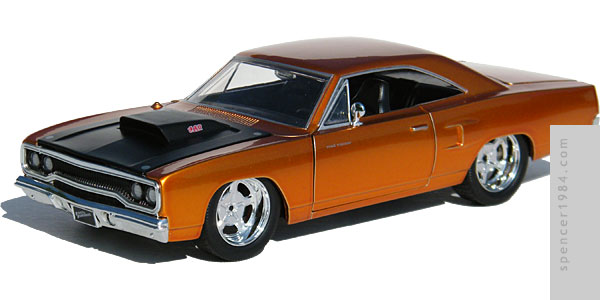 Jada Toys Furious 7 1970 Plymouth Road Runner
