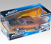 Jada Toys Furious 7 1970 Plymouth Road Runner packaging
