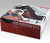 Mega House Future GPX Cyber Formula Aoi Fire Superion GTR packaging