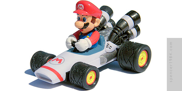 Pull and Speed Mario Kart Mario B-Dasher