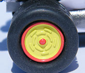 Mario Kart Mario B-Dasher wheel detail