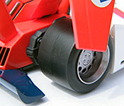 Mega House Future GPX Cyber Formula Knight Savior rear detail