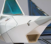 Star Fox Arwing chassis detail