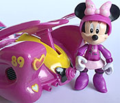 Disney Store Exclusive Mickey and the Roadster Racers racer with Minnie figure