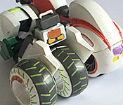 Banpresto Tiger & Bunny Double Chaser rear