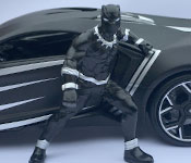 Jada Toys Avengers Black Panther and Lykan HyperSport Diecast Review