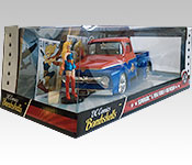 Jada Toys 1956 Ford F-100 Pickup Packaging