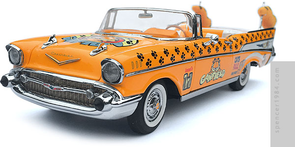 Danbury Mint Garfield Parade Car Diecast Review
