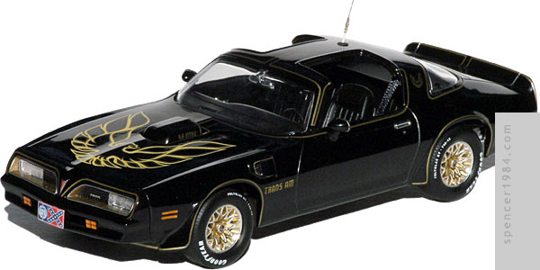 Burt Reynolds' 1977 Firebird T/A from the movie Smokey and the Bandit