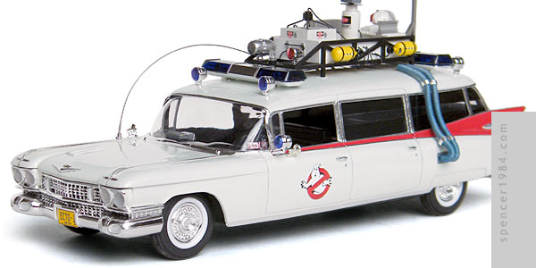 Ecto-1 Ectomobile from the movie Ghostbusters