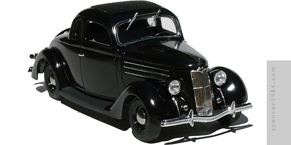 Warren Beatty's 1936 Ford from the movie Dick Tracy