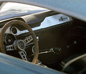 Gunsmith Cats Shelby GT500 interior