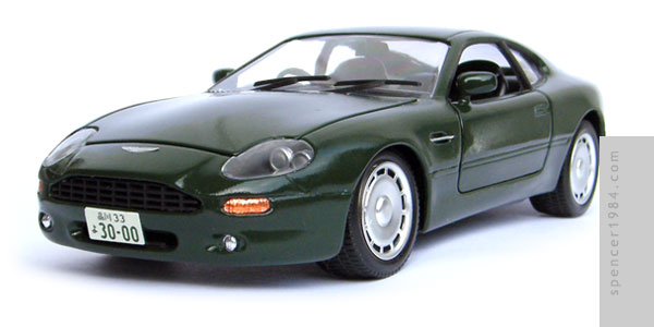 Aston Martin DB7 from the movie Paprika