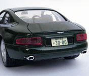 Paprika Aston Martin DB7 rear