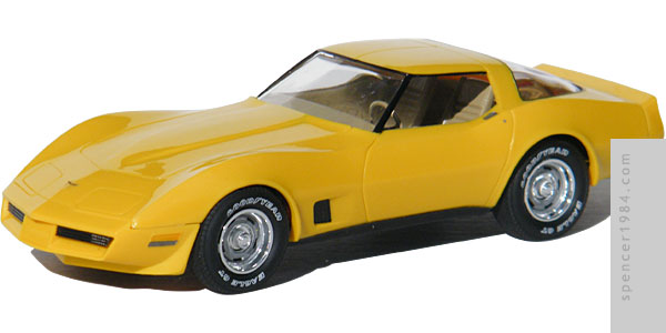 1981 Corvette from the movie The Junkman