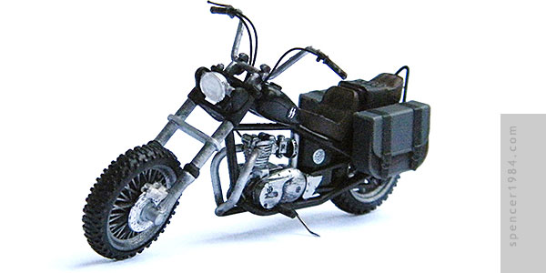 The Daryl Dixon's Triumph Bonneville Chopper from the AMC TV series The Walking Dead