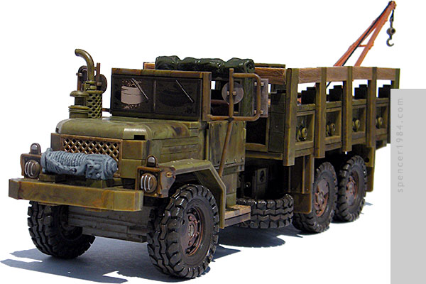 Woodbury Assault M35A3 RV from the AMC TV series The Walking Dead