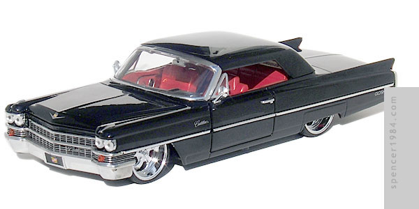 Jada Toys 1963 Cadillac Diecast Review